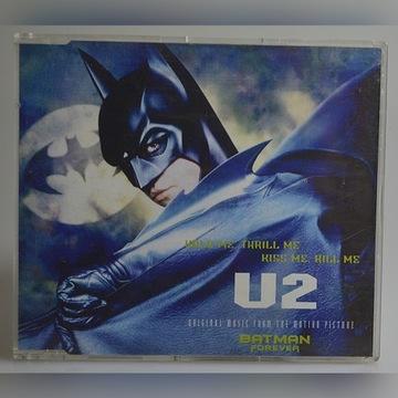 u2 batman cd 3 traks single