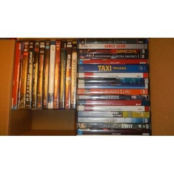 filmy dvd używane zestaw pakiet 30 szt