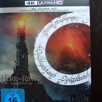 Władca Pierścieni Trylogia 9 x Blu-Ray 4K UHD