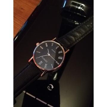 Klasyczny stylowy  zegarek kwarcowy licytacja