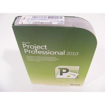 Microsoft Office Project Professional 2010 PL BOX