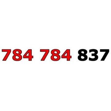784 784 837 T-MOBILE ŁATWY ZŁOTY NUMER STARTER