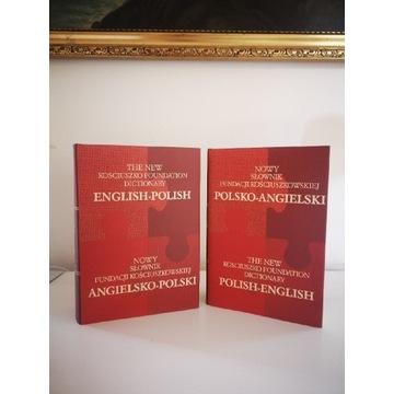 Słownik polsko angielski Fundacji Kościuszkowskiej