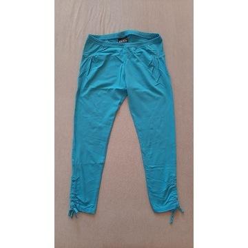 leginsy spodnie niebieskie XS/S