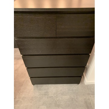 Komoda IKEA Malm - Czarny