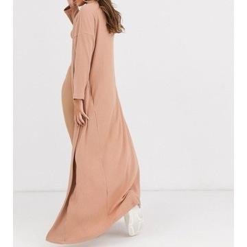 (36/S) ASOS/Długi sweter/płaszcz dzianina/kardigan