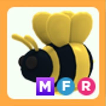 Roblox Adopt Me King Bee MFR mega neon FR