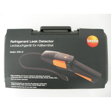 Detektor czynników chłodniczych testo 316-3