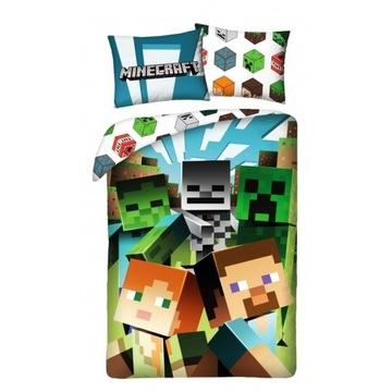 Pościel Minecraft 140x200 Oryginalna !!!!