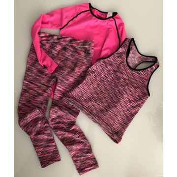 Body Glove strój sportowy fitness 3-części 10/12
