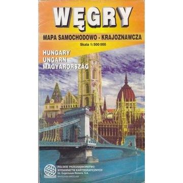PPWK Węgry mapa Węgier samoch.-krajozn. 1:500000