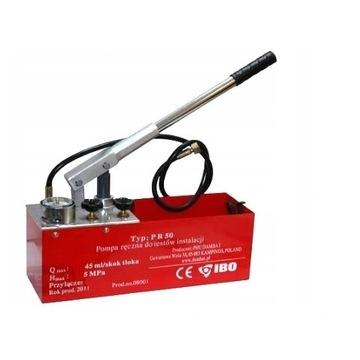 Pompa ręczna DO prób ciśnień instalacji IBO PR-50