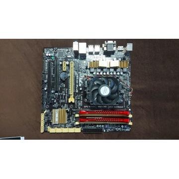Płyta główna ASUS A88XM-PLUS + procesor + DDR3