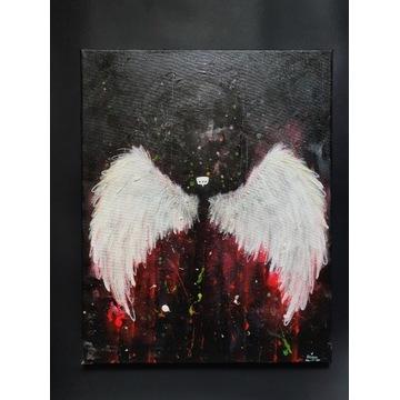 """Obraz - Alexowo """"Free"""" 40x50cm, surreal"""