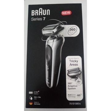 Okazja!!! Nowa golarka Braun Series 7  70-S1000s.