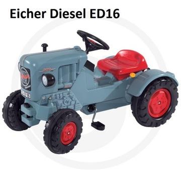 BIG Jeździk na pedały,Eicher Diesel ED16