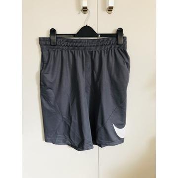 Męskie krótkie spodenki sportowe szare Nike roz. L