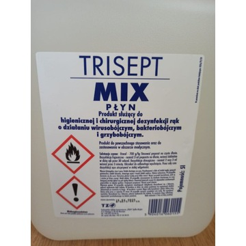 Płyn do dezynfekcji TRISEPT MIX 5l ANTYWIRUSOWY