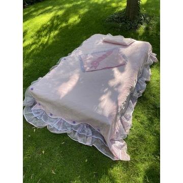 Urocza narzuta na łóżko małej królewny+gratis.Nowa