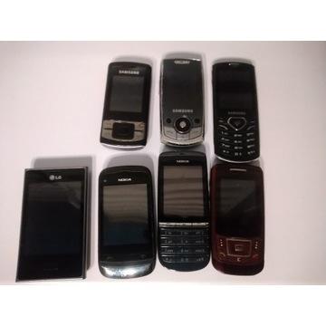 Pakiet, mix uszkodzone telefony