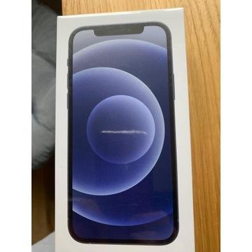 iPhone 12 128 GB czarny folia nowy