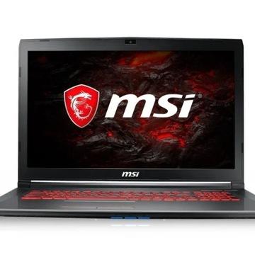 Laptop MSI GV72 + Myszka Gratis