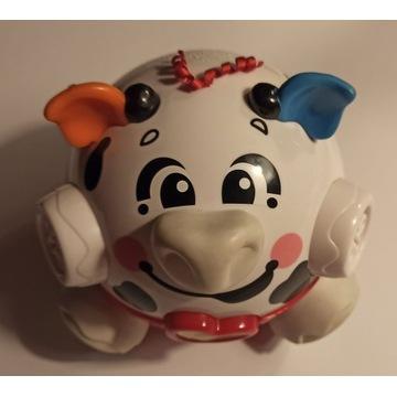 wibrująca  ŚWINKA Fisher Price zabawka sensoryczna