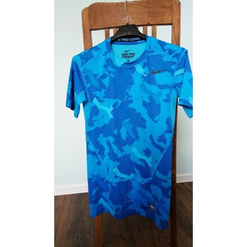 JAK NOWA!! Koszulka NIKE pro combat Dry-Fit r.S