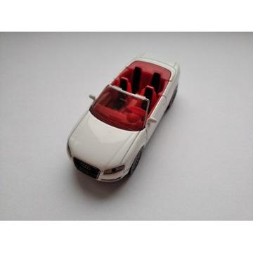 Siku 1:55 Audi A4 cabrio 3.2  biały nie hot wheels