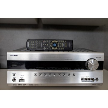 ONKYO TX-SR607 HDMI wzmacniacz amplituner AV Pilot