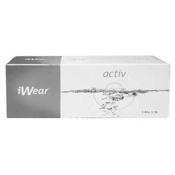 Soczewki jednodniowe iwear2paczki - 7.5 toric 0,75