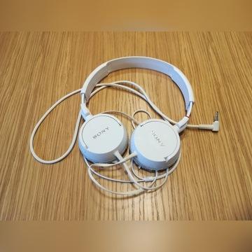 Słuchawki SONY MDR-ZX110 białe