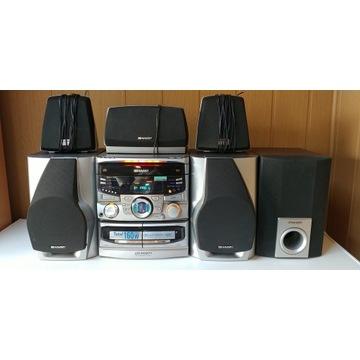 Wieża Sharp CD-PC671H