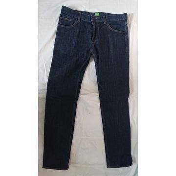 Hugo boss green spodnie 34/34  jak nowe