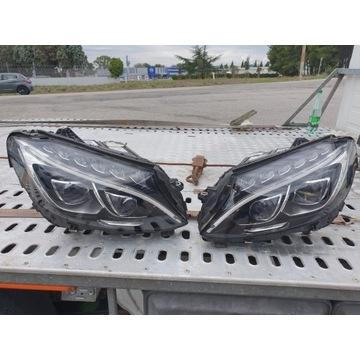 Lampy przednie Mercedes