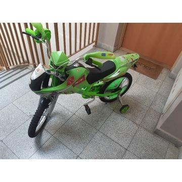 Rower dziecięcy stylizowany na motor