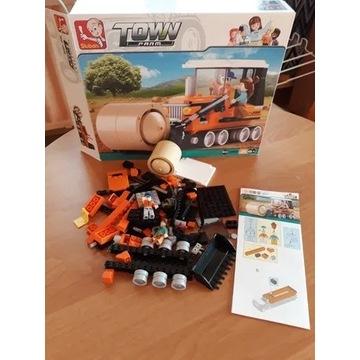 Klocki 165 elementów Nowe farma spychacz typu Lego