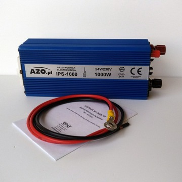Przetwornica elektroniczna 24/230V IPS- 1000W