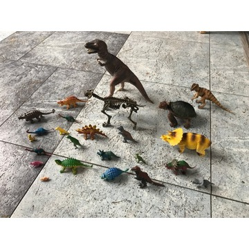 24 przepiękne dinozaury! Doskonały na prezent!