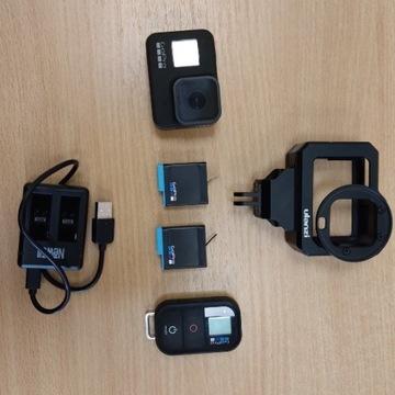 Kamera GoPro HERO 8 Black  + pilot + gwarancja