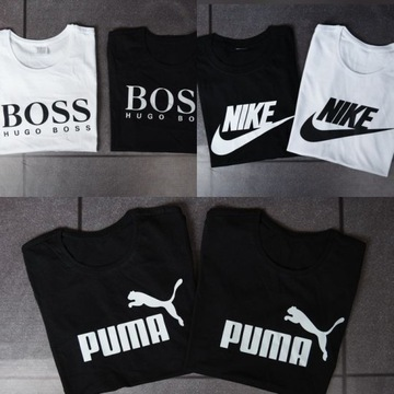 Koszulka Hugo Boss, Nike, puma Męska