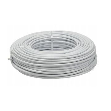 Kabel przewód linka H05VV-F OWY 2x1mm2 biały 100m
