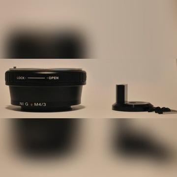 Pierścień redukcyjny Nikon na mikro 4/3