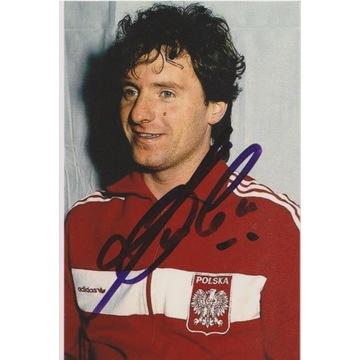Mirosław Okoński (Legia) AUTOGRAF
