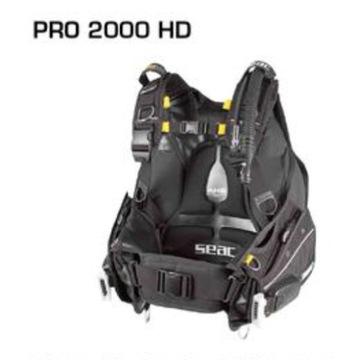 Jacket nurkowy Seac Pro2000 HD, xl
