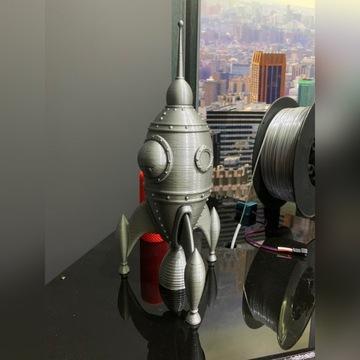 Skarbonka rakieta 3D
