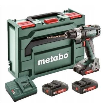 Nowa Wkrętarka bezszczotkowa Metabo 18V 2xaku 2.0