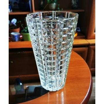 Ząbkowice? Piękny wazon OPTYCZNY,stan bdb.28 cm.