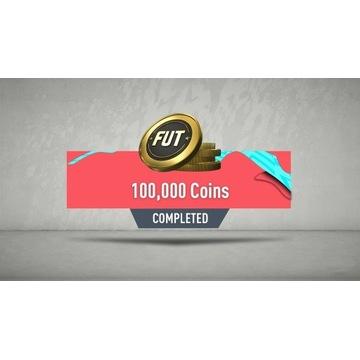 Monety Coinsy FIFA 20, 100K, PS4