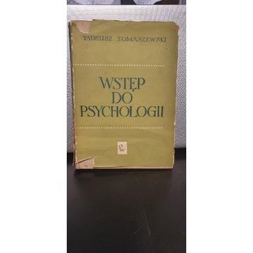 """Tomaszewski Tadeusz """"Wstęp do psychologii"""" 1963"""